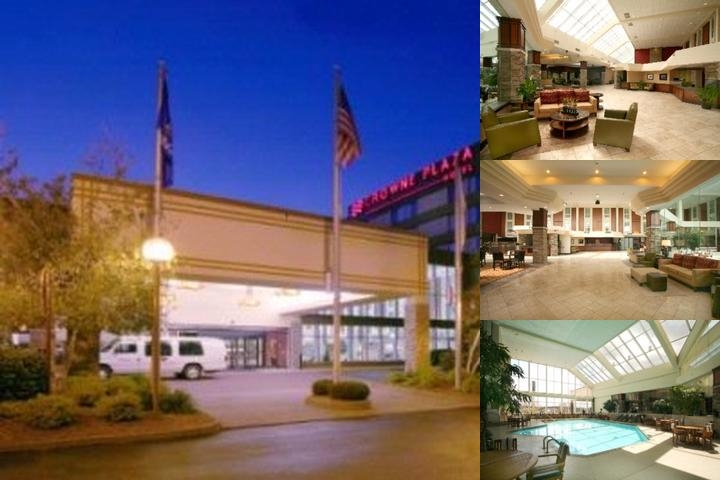 Crowne Plaza Hotel Madison photo collage