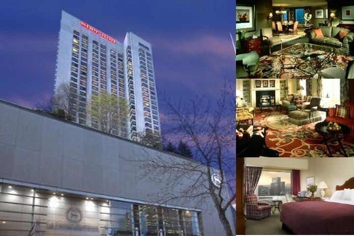 Sheraton Montreal photo collage