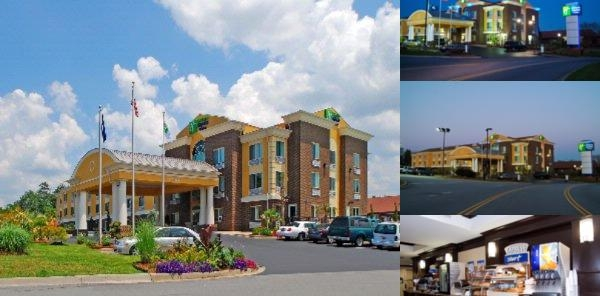 Holiday Inn Express & Suites Anderson & Clemson photo collage