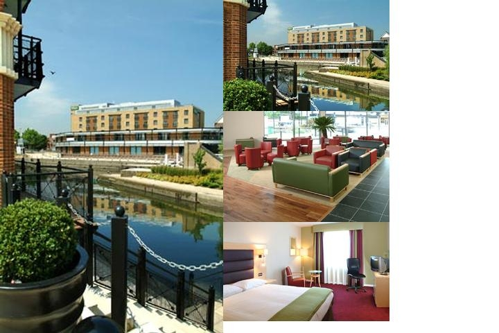 Holiday Inn London Brentford Lock photo collage