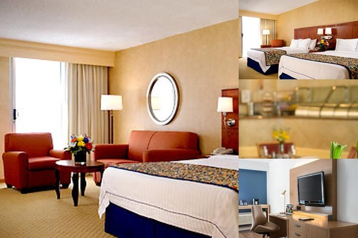 Long Beach Courtyard by Marriott photo collage