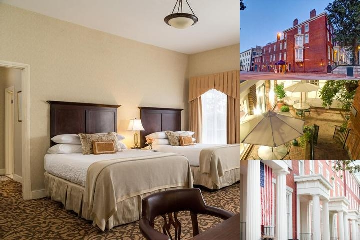 Linden Row Inn photo collage