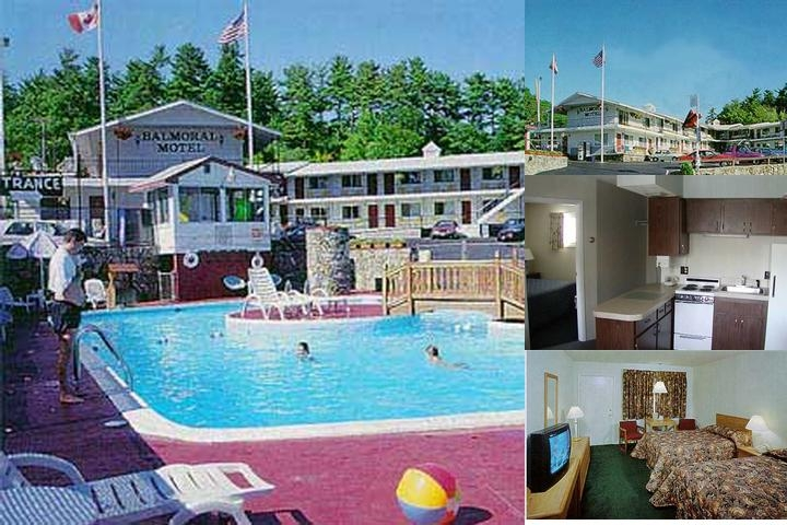 Balmoral Motel photo collage
