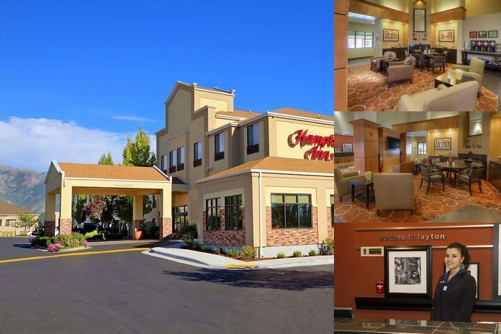 Hampton Inn Layton Utah photo collage