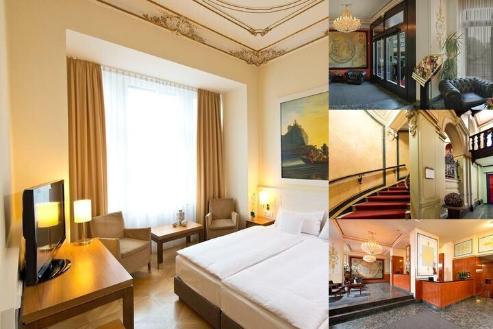 Angleterre Hotel photo collage