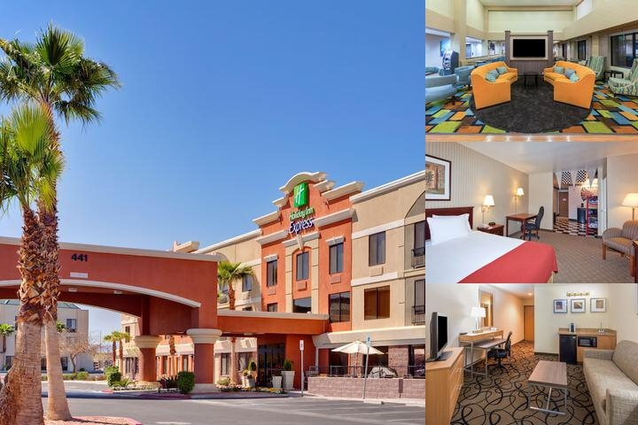 Holiday Inn Express Hotel & Suites Henderson photo collage