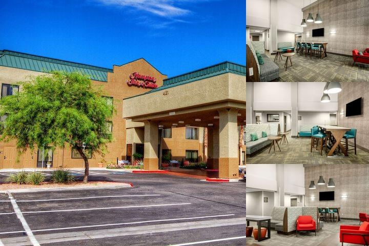 Hampton Inn & Suites Hotel Henderson Nv photo collage
