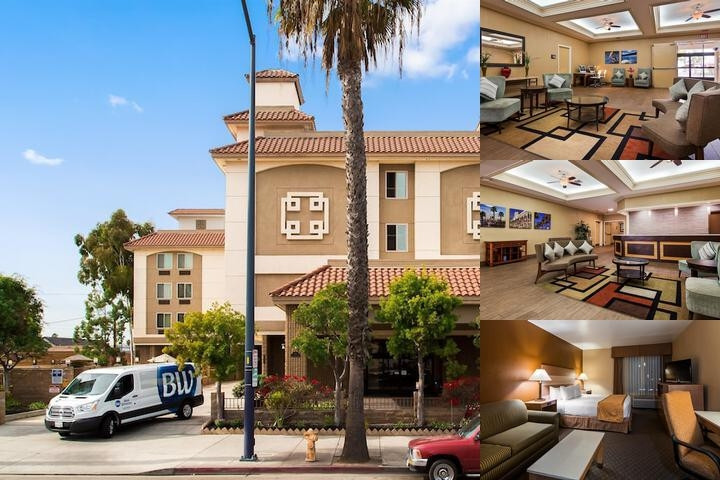 Best Western Long Beach photo collage