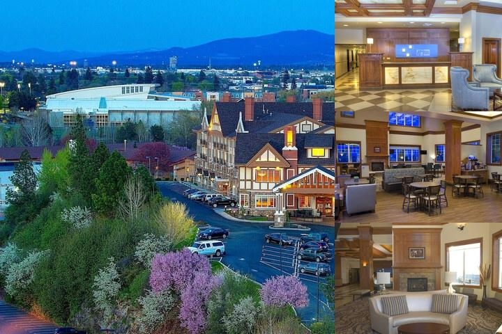 Holiday Inn Express Downtown Spokane photo collage