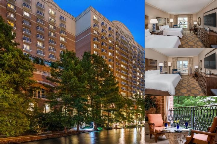 Westin Riverwalk photo collage