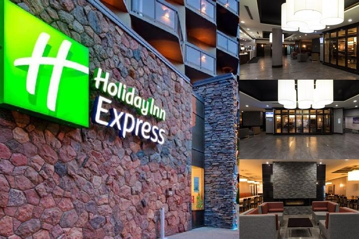 Holiday Inn Express Edmonton Downtown photo collage