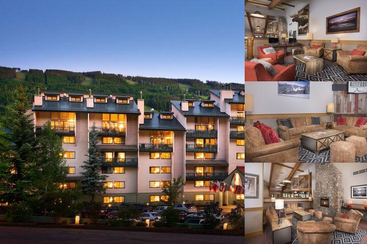 Evergreen Lodge at Vail photo collage