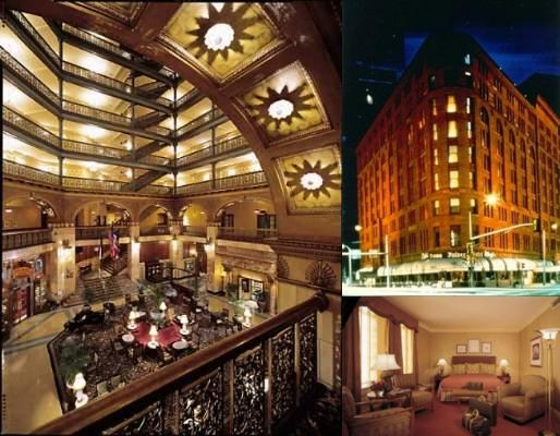 The Brown Palace Hotel & Spa Autograph Collection photo collage