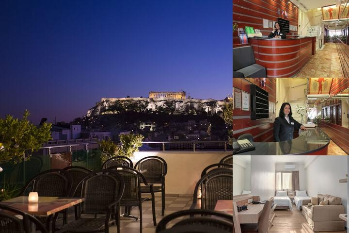 Attalos Hotel photo collage