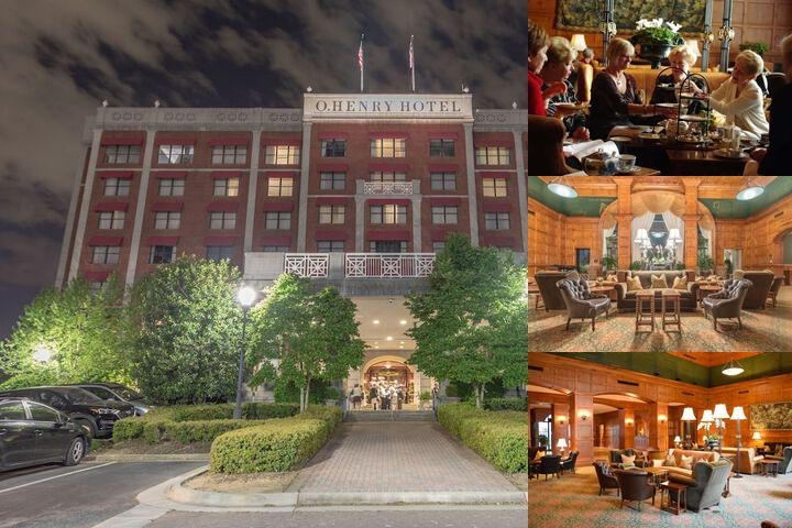 O. Henry Hotel photo collage