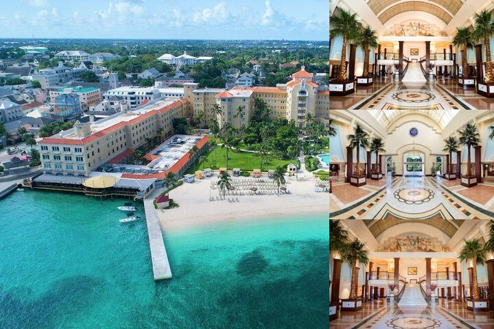 British Colonial Hilton Nassau photo collage