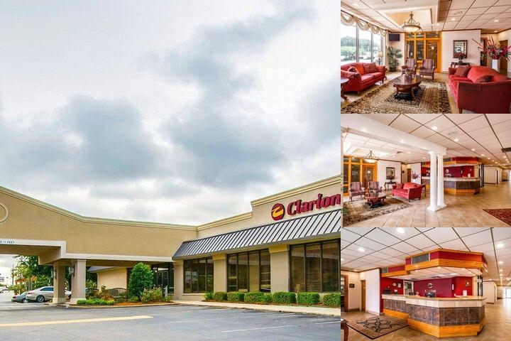 Clarion Inn & Suites Dothan Alabama photo collage
