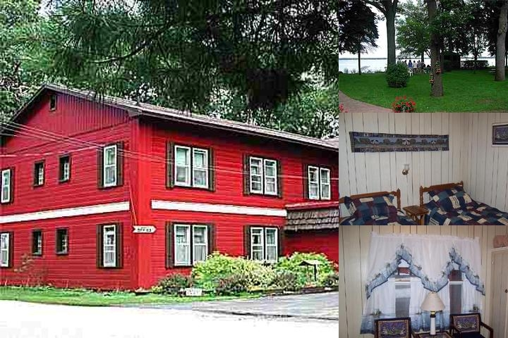 East Bay Lodge photo collage