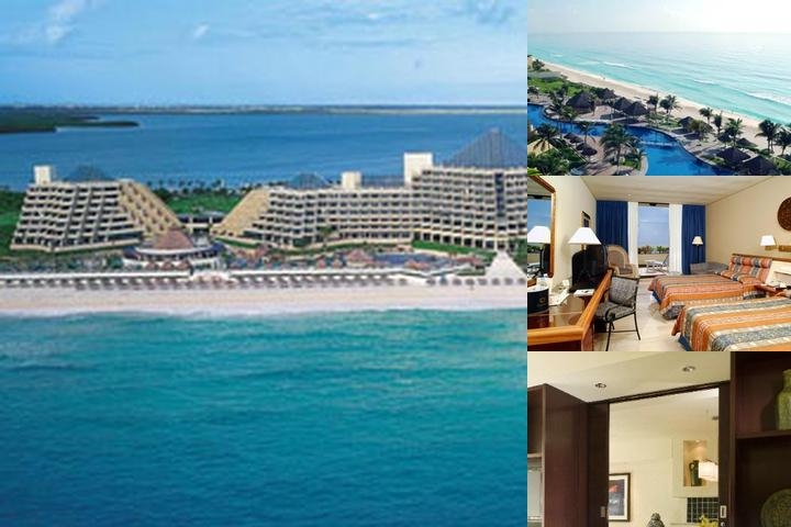 Gran Melia Cancun Resort Familiar photo collage