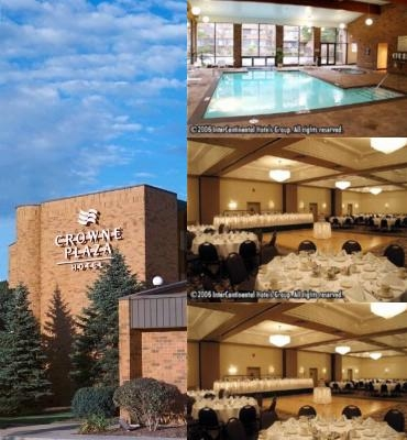 Crowne Plaza Grand Rapids photo collage