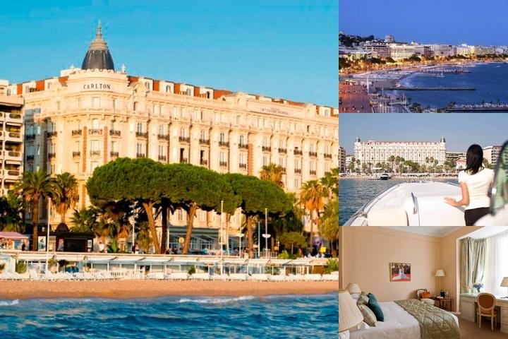 Intercontinental Carlton Cannes photo collage
