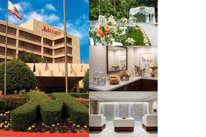 Marriott Fullerton by California State University photo collage