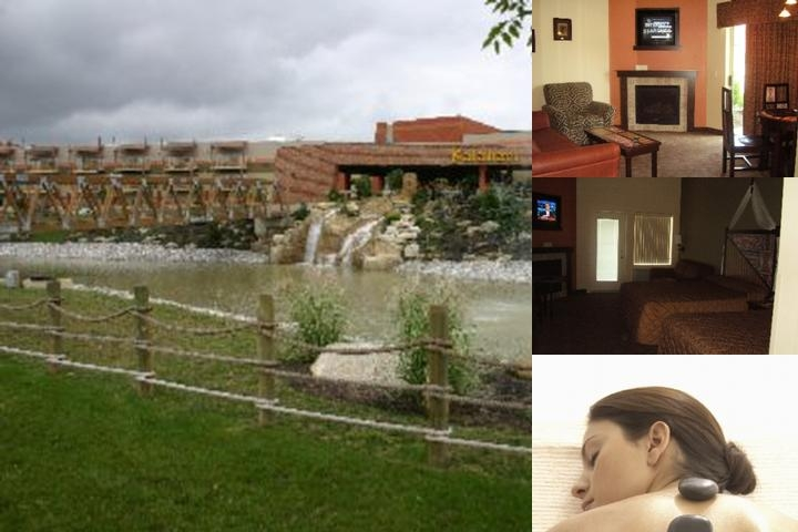 Kalahari Resort photo collage
