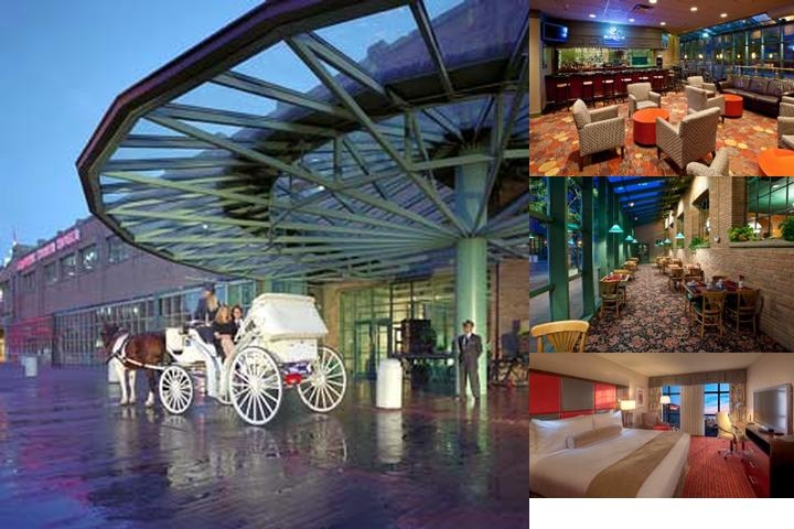 Crowne Plaza Downtown Indianapolis Union Station photo collage