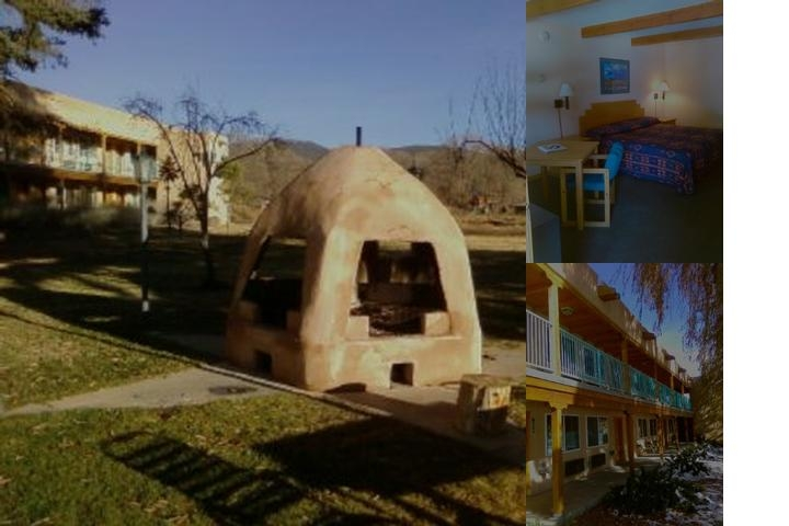 Indian Hills Inn Taos Plaza photo collage
