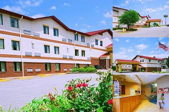 America's Best Value Inn St. Louis South photo collage