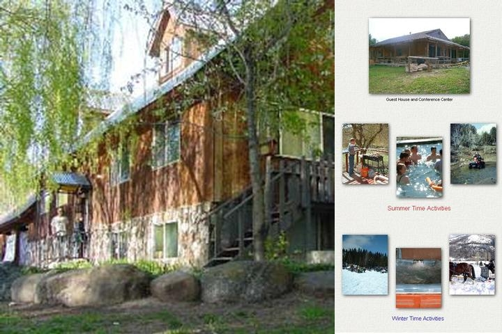 Cub River Lodge & Guest Ranch photo collage