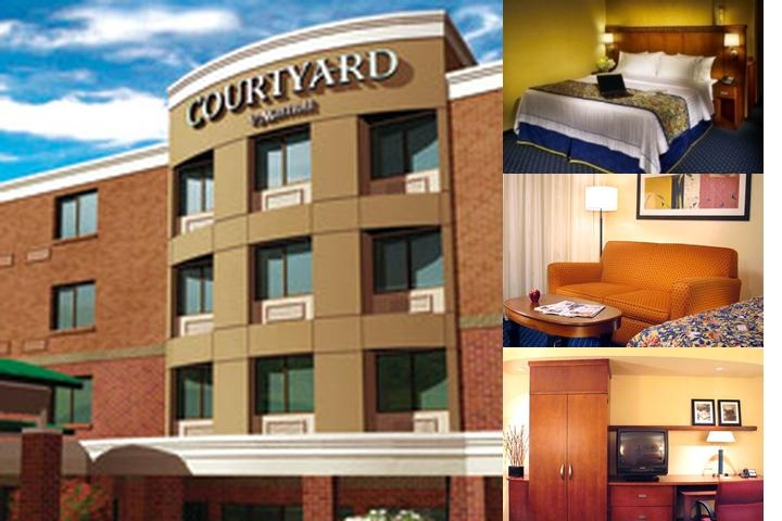 Courtyard by Marriott Columbia Missouri photo collage