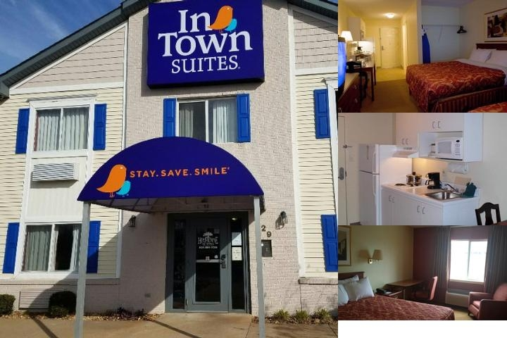 Home Towne Suites Clarksville photo collage