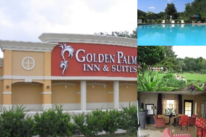 Golden Palms Inn & Suites photo collage