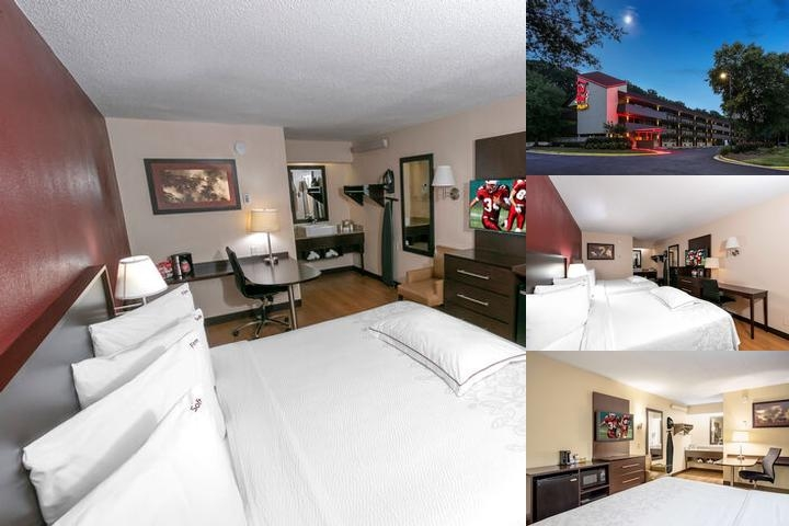 Red Roof Inns Greater Washington Dc Superior King Room With Microwave Mini Fridge And Coffee Maker