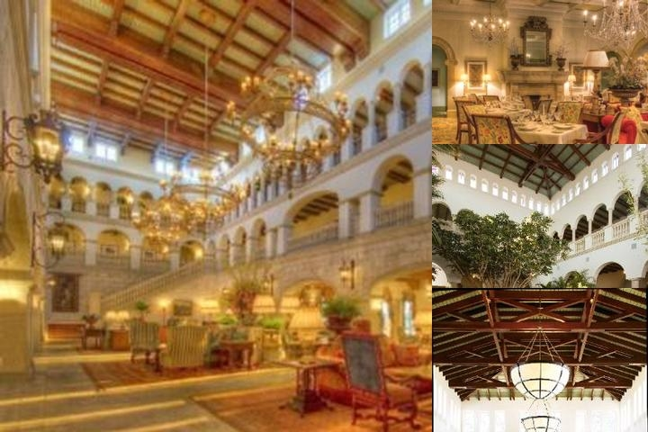 The Cloister at Sea Island photo collage