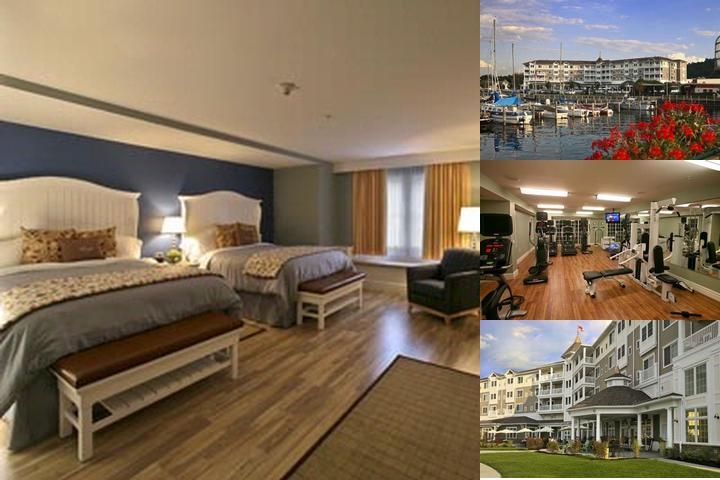 Watkins Glen Harbor Hotel photo collage