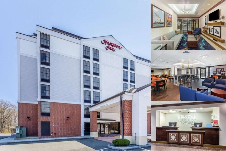 Hampton Inn by Hilton Boston Peabody photo collage
