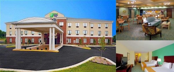 Holiday Inn Express & Suites Thornburg S. Frederic photo collage