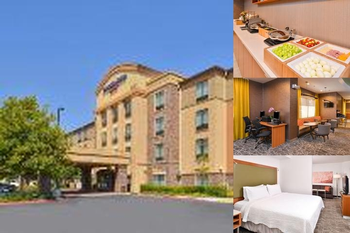 Springhill Suites by Marriott / Roseville Ca. Two-queen Suite