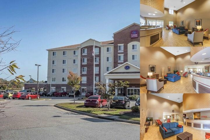Comfort Suites Suffolk Chesapeake photo collage
