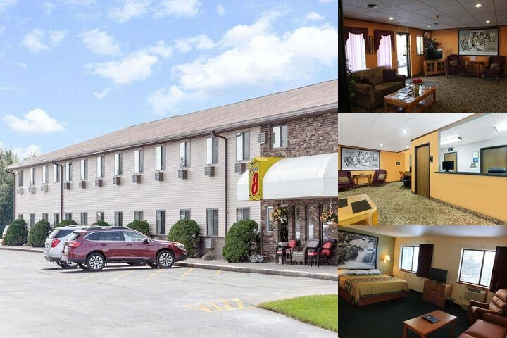 Super 8 Antigo Wi photo collage