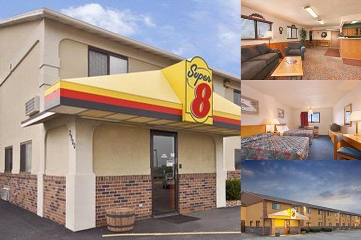 Super 8 Motel Muscatine photo collage