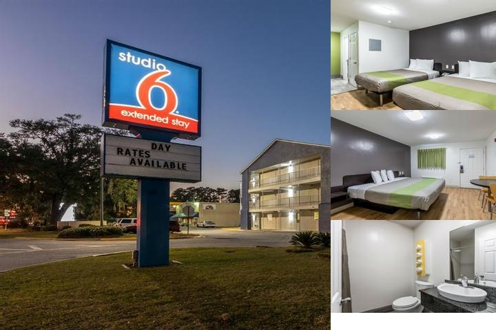 Savannah Suites photo collage
