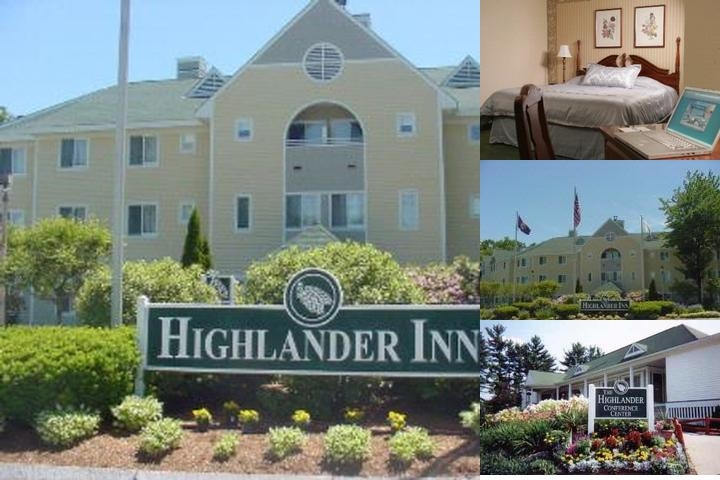 The Highlander Inn photo collage