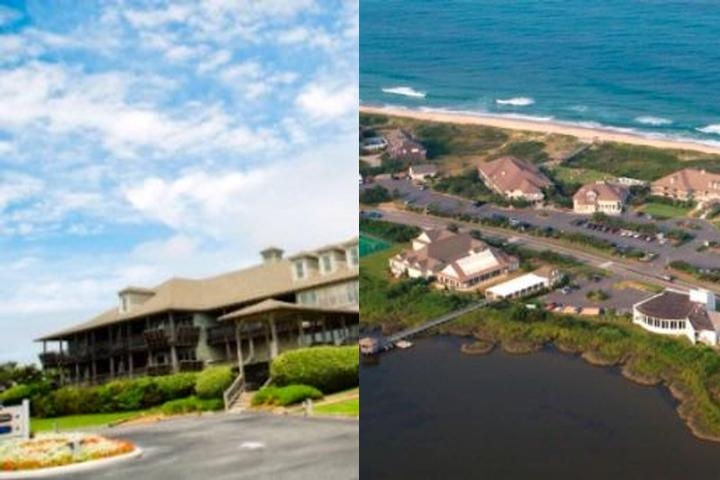 The Sanderling Resort photo collage