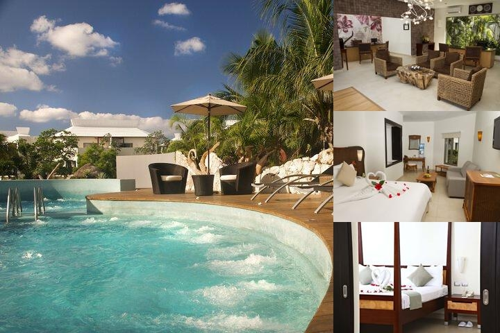 Sandos Caracol Eco Resort & Spa All Inclusive photo collage