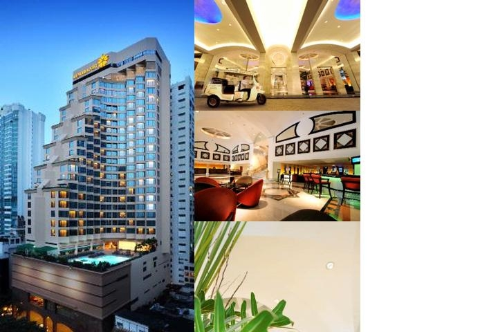 Rembrandt Hotel Bangkok photo collage