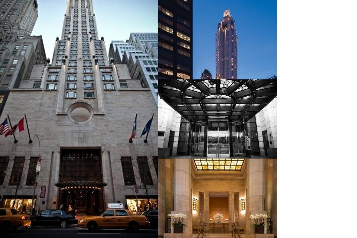 Four Seasons Hotel New York photo collage