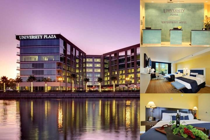 University Plaza Waterfront Hotel photo collage